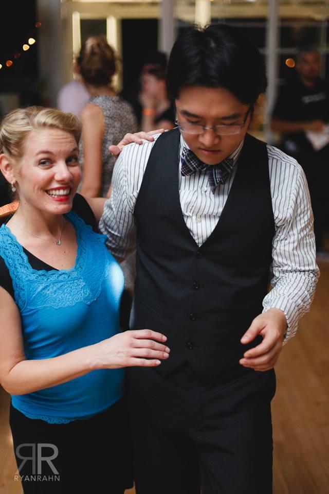 Swing Danceing at Kats Korner