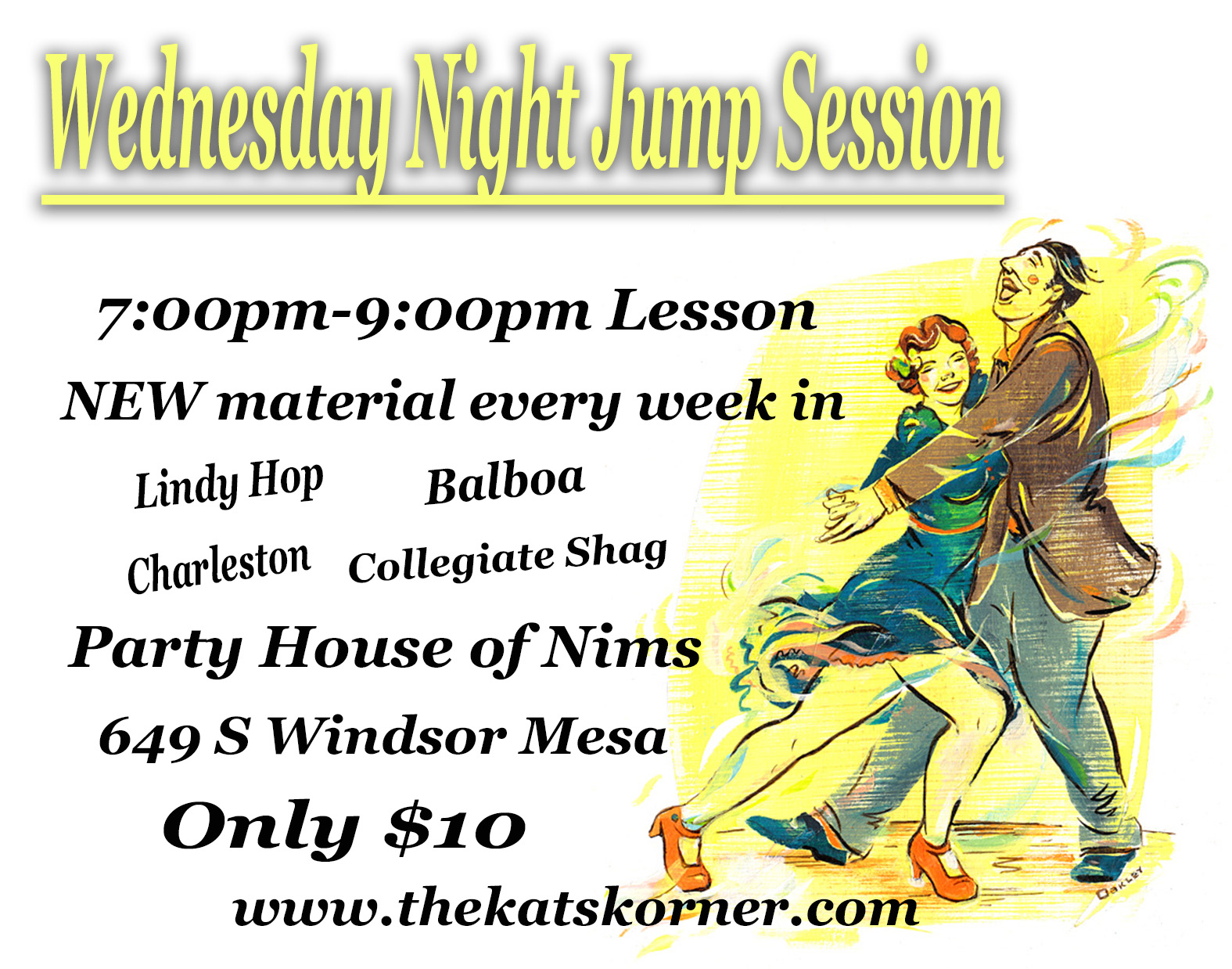 Wednesday Night Jump Sessions